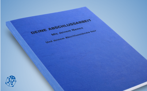Softcover mit bedrucktem Cover
