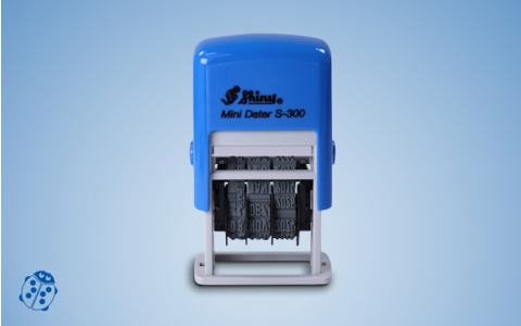 Datumstempel Shiny S-300 Mini Dater