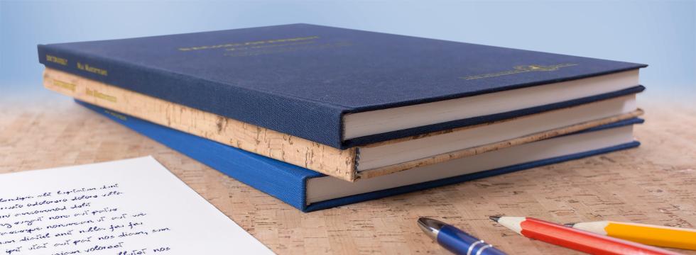 Doktorarbeit, Dissertation und Examensarbeit drucken und binden