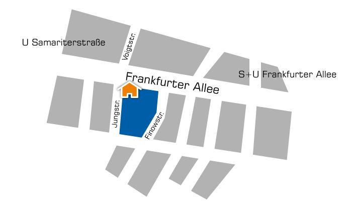 Copyshop Berlin Friedrichshain Frankfurter Allee 72